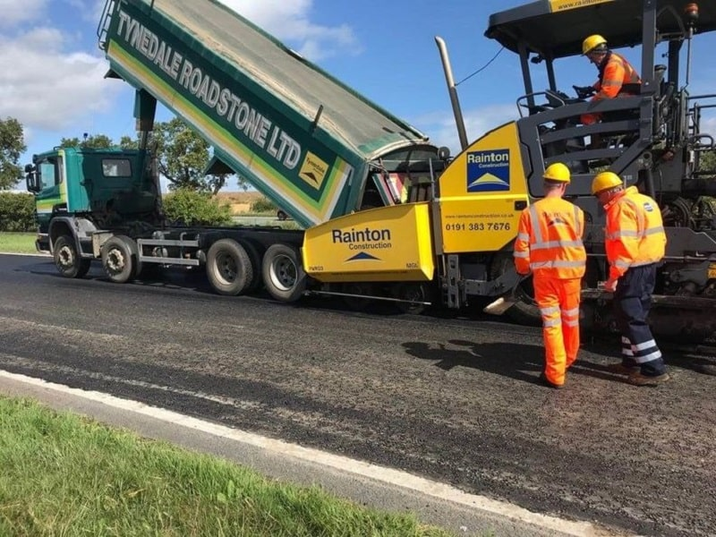 If it's up to MacRebur, the US may soon be travelling on plastic roads