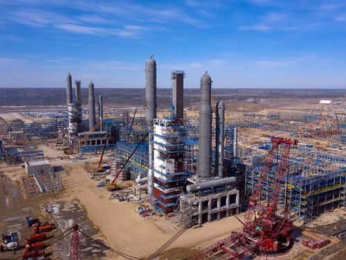 SIBUR and Sinopec set up a JV at Amur Gas Chemical Complex