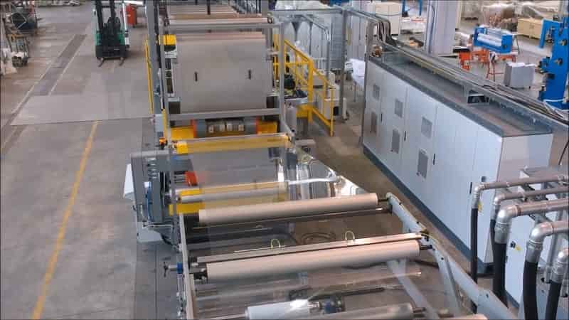 AMUT completes new PET sheet line for Hickman's