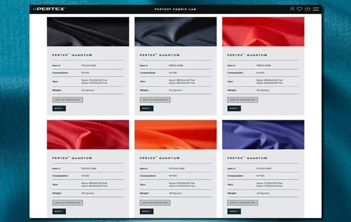 Japan's Pertex launches new fabric lab online platform
