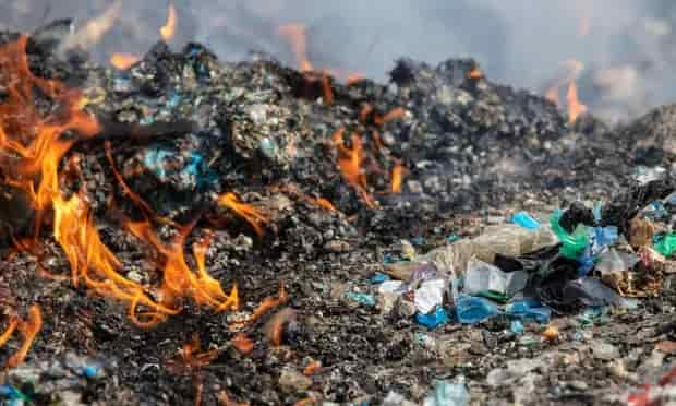 UK plastics sent for recycling in Turkey dumped and burned, Greenpeace finds