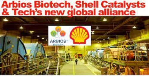 Shell forms alliance with Arbios Biotech in pursuit of a low-carbon intensity, circular-economy focused biorefinery