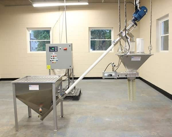 Dust-Tight Batch-Weigh System