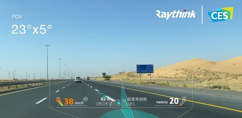 Strong Growth Potential of China's Smart Auto Parts Sector Bodes Well for AR-HUD Maker Raythink