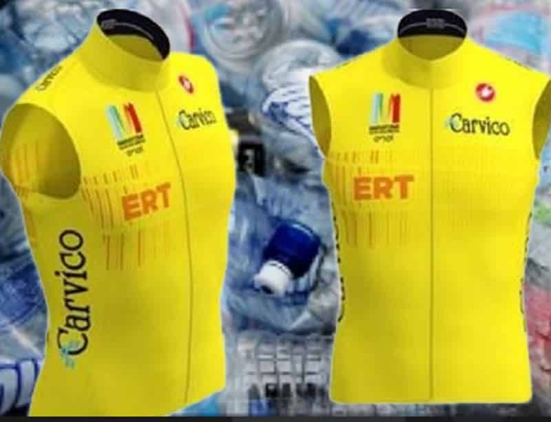 With Carvico the most sustainable sport: 10 thousand vests recovering the PET from the bottles