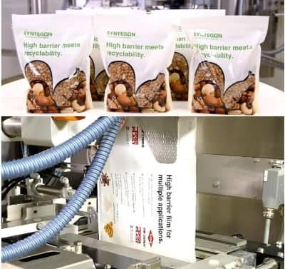 New PE-based high-barrier food pouch designed for recyclability
