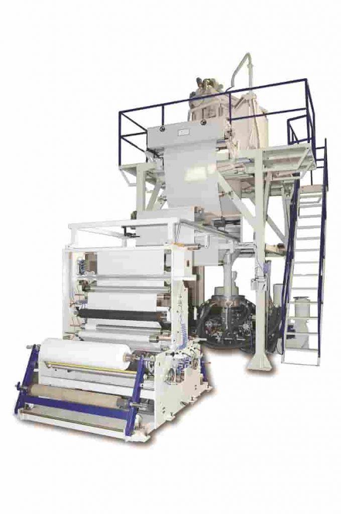 KABRA Extrusiontechnik has developed economical tubular film blowing lines