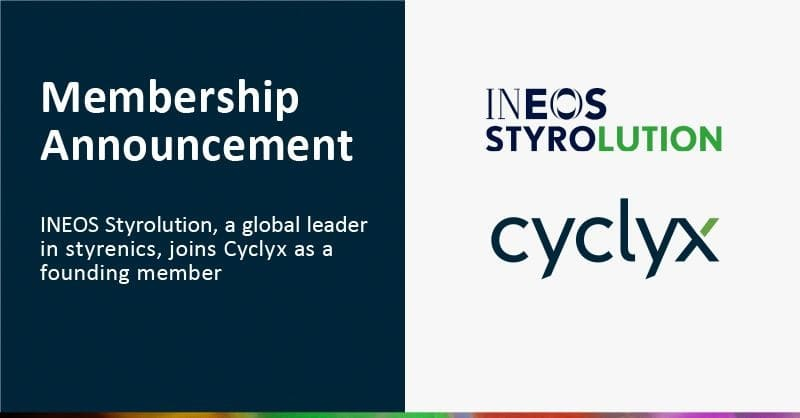 INEOS Styrolution Joins Cyclyx