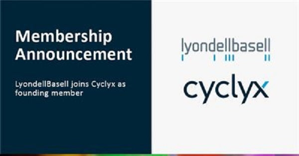 LyondellBasell joins Cyclyx as founding member
