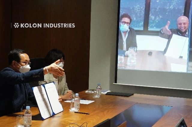 Kolon Industries partners with Switzerland's Gr3n to produce recycled PET chips for various applications