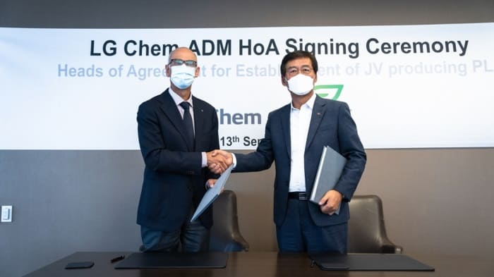 LG Chem, ADM to build JV in US to produce bioplastics made from corn