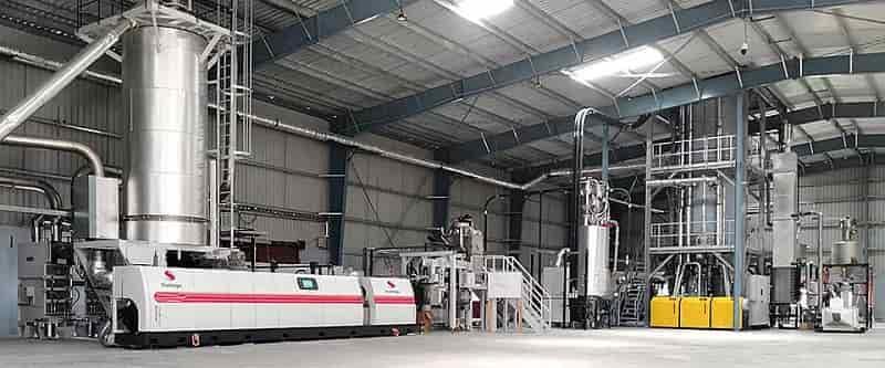Starlinger installs first food-grade plastics recycling facility at Srichakra Polyplast in India